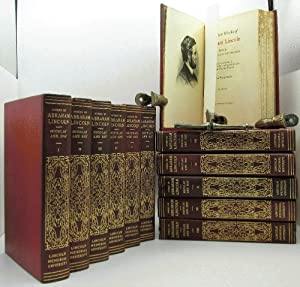 The Complete Works of Abraham Lincoln 12 Vol Red Leather Sponsor's Limited Edition