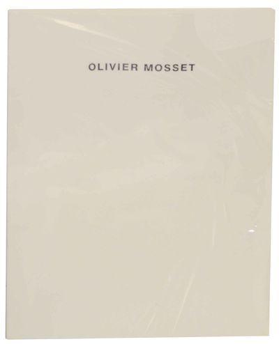 Olivier Mosset: MOSSET, Olivier and Jean Baudrillard