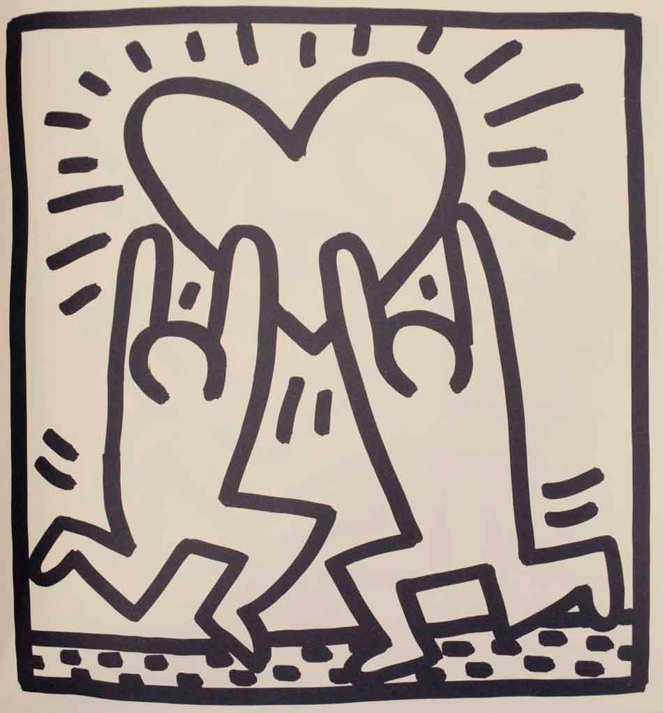 Keith Haring Coloring Book by HARING, Keith: Keith Haring, np - Jeff ...