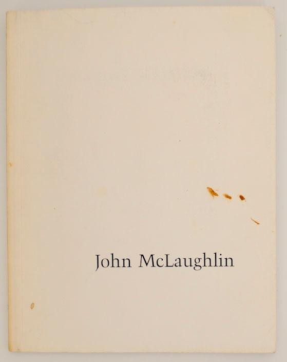 john mclaughlin paintings 1949 1975 by mclaughlin john andre emmerich gallery new york jeff. Black Bedroom Furniture Sets. Home Design Ideas