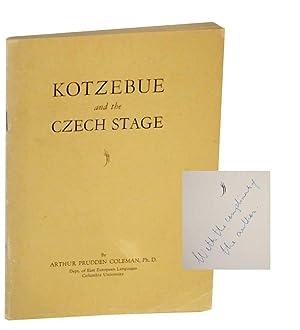 Kotzebue and the Czech Stage: COLEMAN, Arthur Prudden