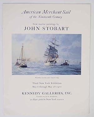 American Merchant Sail of the Nineteenth Century: STOBART, John