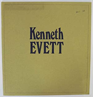 Works by Kenneth Evett: EVETT, Kenneth