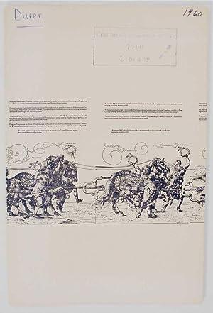 Prints by Albrecht Durer: DURER, Albrecht