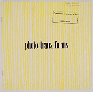 Photo/ Trans / Forms: Judith Golden and: GOLDEN, Judith and