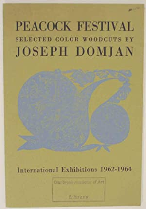 Peacock Festival: Selected Color Woodcuts by Joseph: HENDRICKS, Geoffrey -