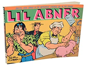 Li'l Abner Dailies 1938: CAPP, Al & Dave Schreiner (editor)