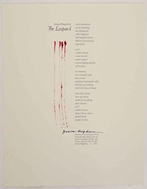 The Leopard (Signed Broadside)