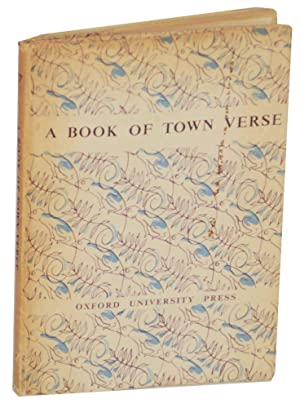 A Book of Town Verse: SUSSAMS, T.W. (editor)