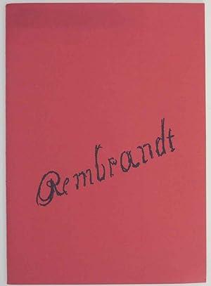 Rembrandt Harmensz Van Rijn: Radierungen: VAN RIJN, Rembrandt