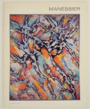 Alfred Manessier: Paintings, Tapestries, Stained-glass designs, drawings: MANESSIER, Alfred