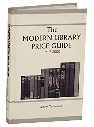 The Modern Library Price Guide 1917-2000: TOLDANO, Henry