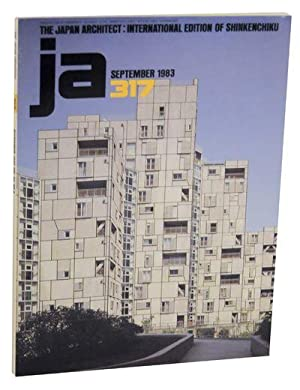 The Japan Architect 317: International Edition of