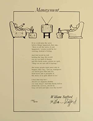Management (Signed Broadside)