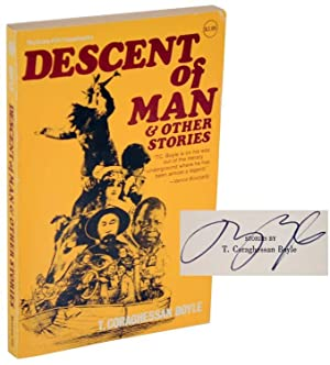 Descent of Man & tother Stories (Signed First Edition): BOYLE, T. C.