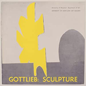 Gottlieb: Sculpture & Marca-Relli: Collage: GOTTLIEB, Adolph and