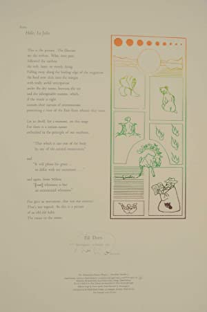 from Hello, La Jolla (Signed Broadside)