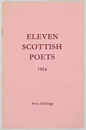 Eleven Scottish Poets A Contemporary Selection 1954: TREMAYNE, Sydney W.S.