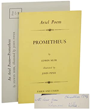 Prometheus (Signed First Edition): MUIR, Edwin and