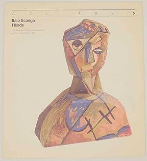 Italo Scanga: Heads: SCANGA, Italo and