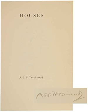 Houses (Signed First Edition): TESSIMOND, A.S.J. (Arthur