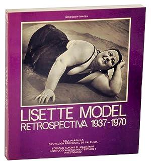 Lisette Model Retrospectiva 1937-1970: MODEL, Lisette, Alan