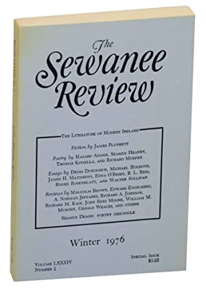 The Sewanee Review Volume LXXXIV, Number 1: CORE, George (editor)