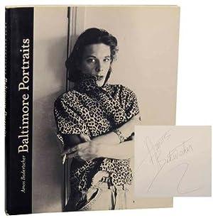 Baltimore Portraits (Signed First Edition): BADERTSCHER, Amos