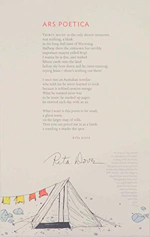 Ars Poetica (Signed Broadside)