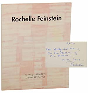 Rochelle Feinstein: Paintings 1990-1991 / Malerei 1990-1991 (Signed First Edition)