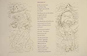 The Rescue (Signed Broadside)