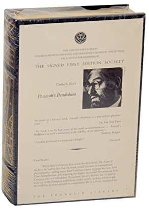 Foucault's Pendulum (Signed First Edition): ECO, Umberto