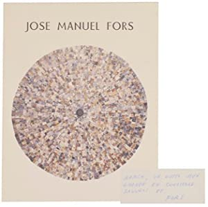 Jose Manuel Fors (Signed First Edition)