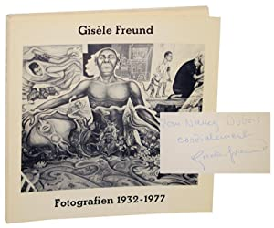 Fotografien 1932-1977 (Signed First Edition): FREUND, Gisele and