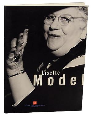 Lisette Model: MODEL, Lisette
