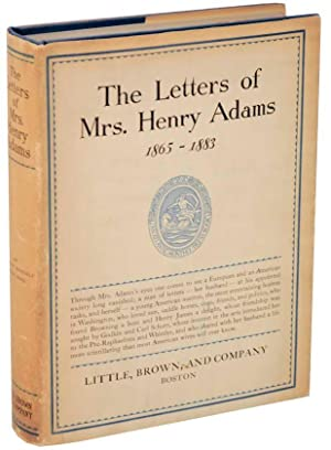 The Letters of Mrs. Henry Adams: THORON, Ward (editor)
