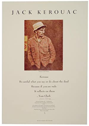 Jack Kerouac (Signed Broadside)