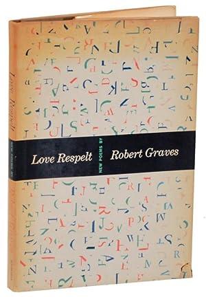 Love Respelt (Advance Copy): GRAVES, Robert