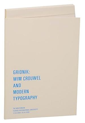 Gridnik: Wim Crouwel and Modern Typography: CROUWEL, Wim and
