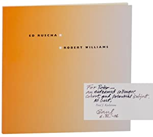 Two Artists Two Worlds: The Drawings of Ed Ruscha and Robert Williams (Signed First Edition)