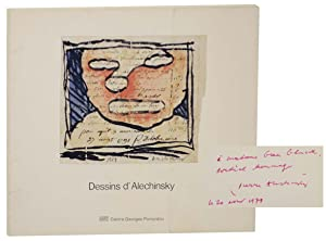Les Dessins d'Alechinsky au Musee National d'art moderne (Signed First Edition)