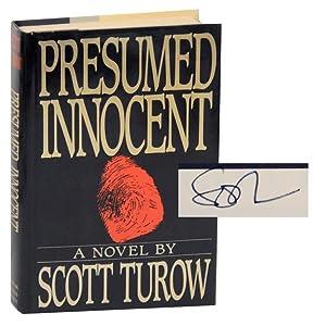 Presumed Innocent (Signed First Edition): TUROW, Scott
