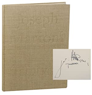 Joseph Marioni: Triptych (Signed First Edition)