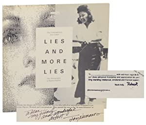 Lies and More Lies: The Photography of Representation (Signed First Edition)