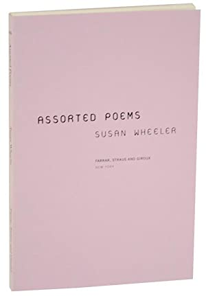 Assorted Poems (Uncorrected Proof): WHEELER, Susan