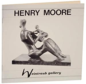 Henry Moore: Sculpture, Watercolors & Drawings, Graphics,: MOORE, Henry