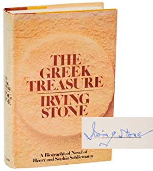 The Greek Treasure (Signed First Edition): STONE, Irving