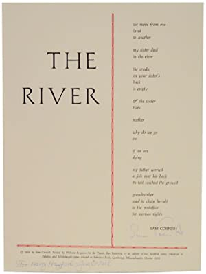 The River (Signed Broadside)