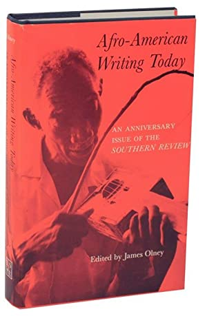 Afro-American Writing Today: An Anniversary Issue of the The Southern Review