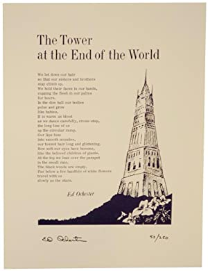 The Tower at the End of the World (Signed Broadside)